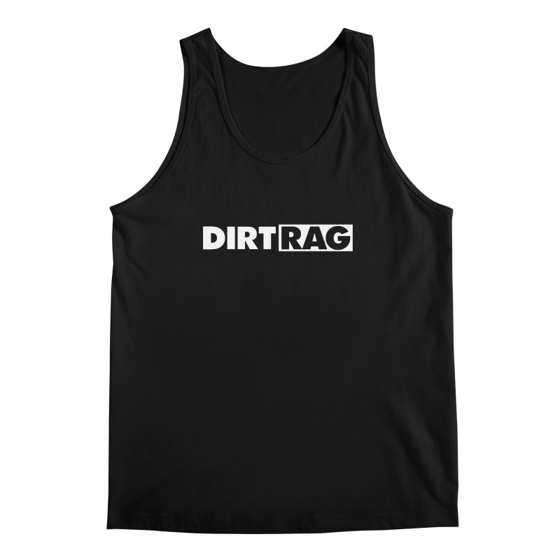 Dirt Rag Logo White Men's Regular Tank by Dirt Rag Magazine's Shop