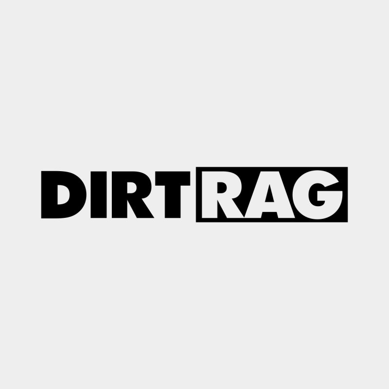 Dirt Rag Logo Black None  by Dirt Rag Magazine's Shop