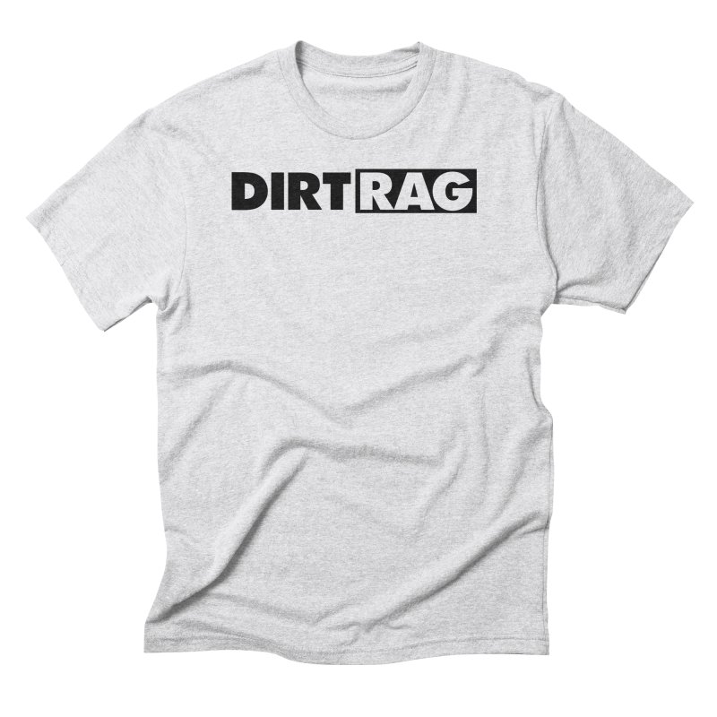 Dirt Rag Logo Black Men's Triblend T-Shirt by Dirt Rag Magazine's Shop