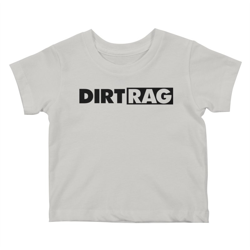 Dirt Rag Logo Black Kids Baby T-Shirt by Dirt Rag Magazine's Shop