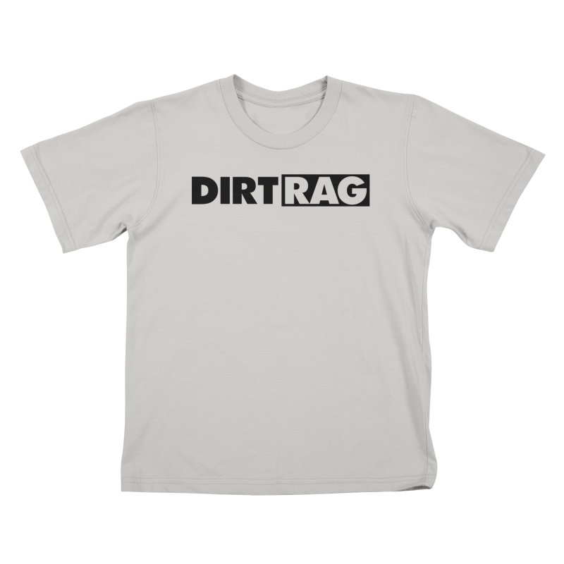 Dirt Rag Logo Black Kids T-Shirt by Dirt Rag Magazine's Shop