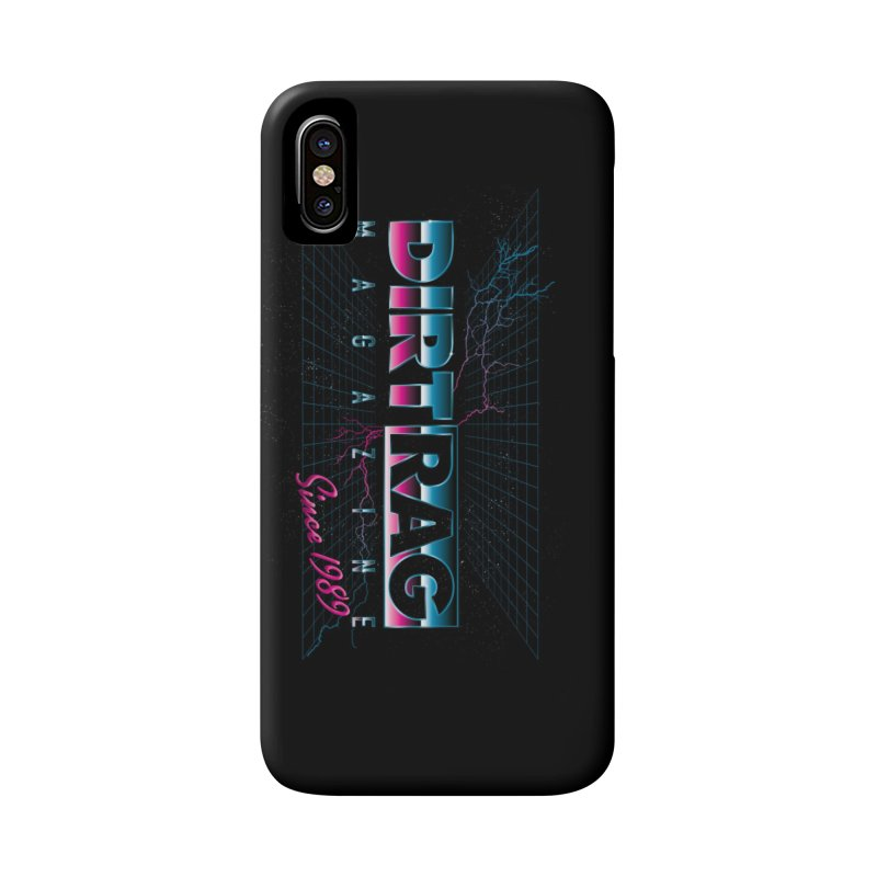 Dirt Rag Totally '80s Chrome Steel Accessories Phone Case by Dirt Rag Magazine's Shop