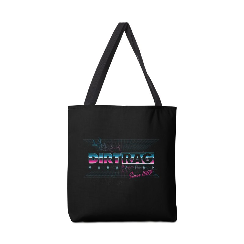 Dirt Rag Totally '80s Chrome Steel Accessories Tote Bag Bag by Dirt Rag Magazine's Shop