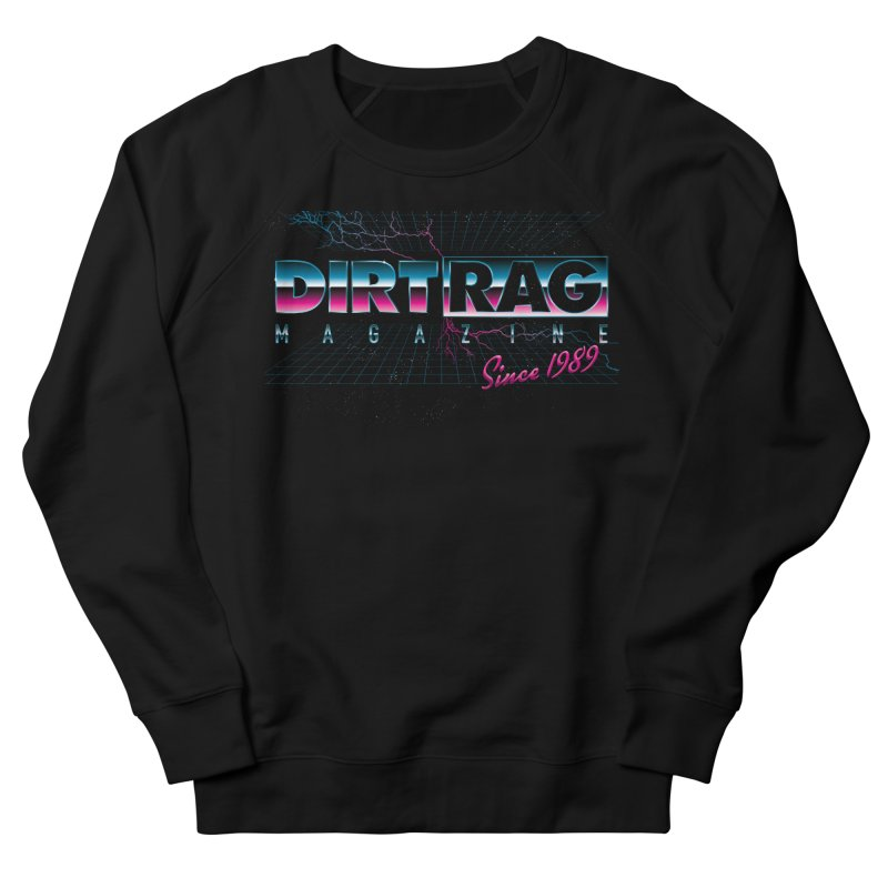 Dirt Rag Totally '80s Chrome Steel Men's French Terry Sweatshirt by Dirt Rag Magazine's Shop