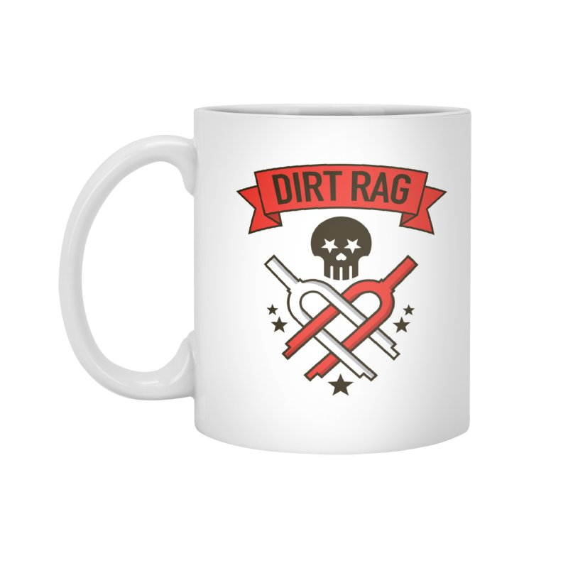 Dirt Rag Bangin' Forks Accessories Mug by Dirt Rag Magazine's Shop
