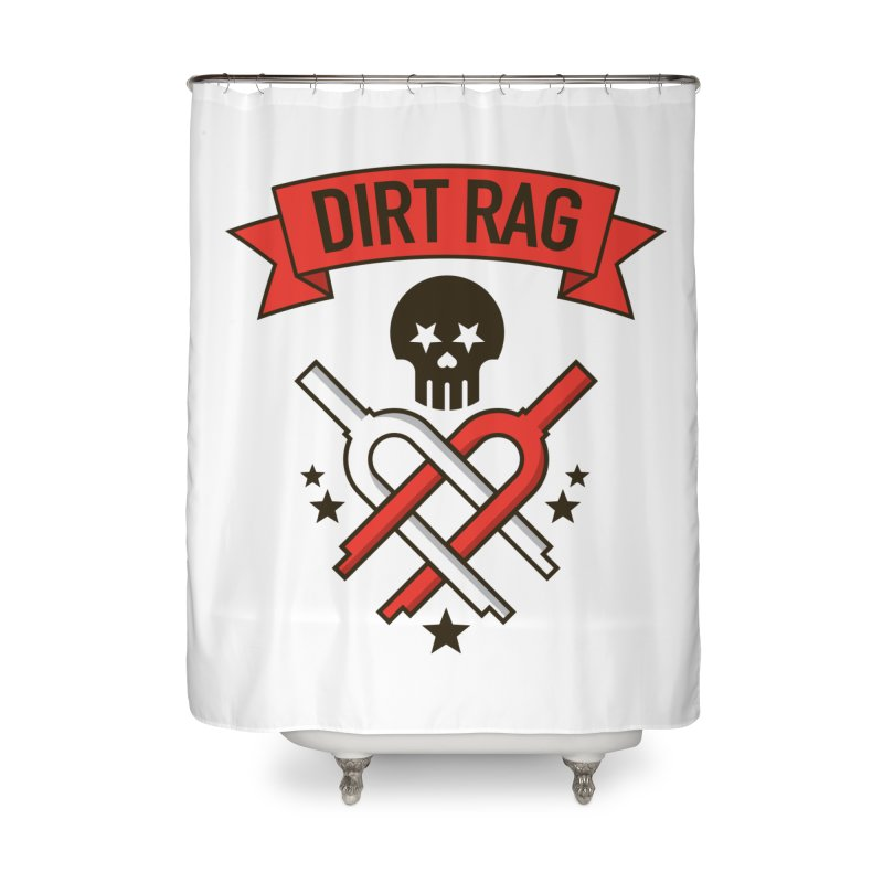 Dirt Rag Bangin' Forks Home Shower Curtain by Dirt Rag Magazine's Shop