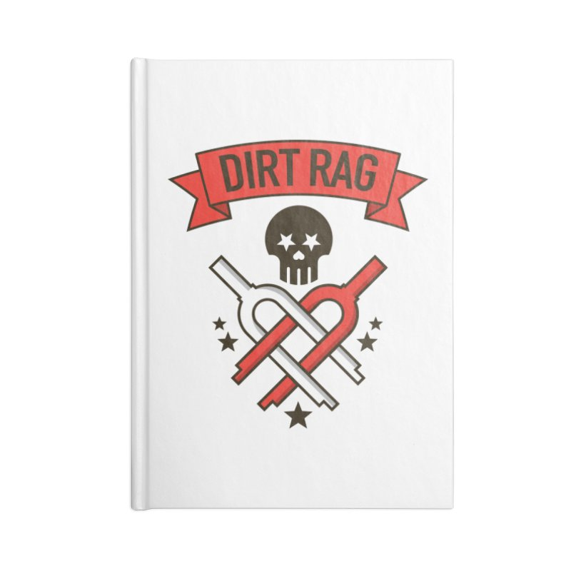 Dirt Rag Bangin' Forks Accessories Lined Journal Notebook by Dirt Rag Magazine's Shop