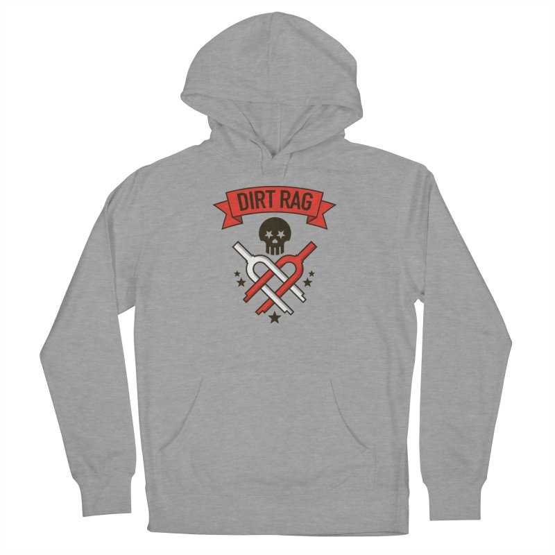 Dirt Rag Bangin' Forks Women's French Terry Pullover Hoody by Dirt Rag Magazine's Shop