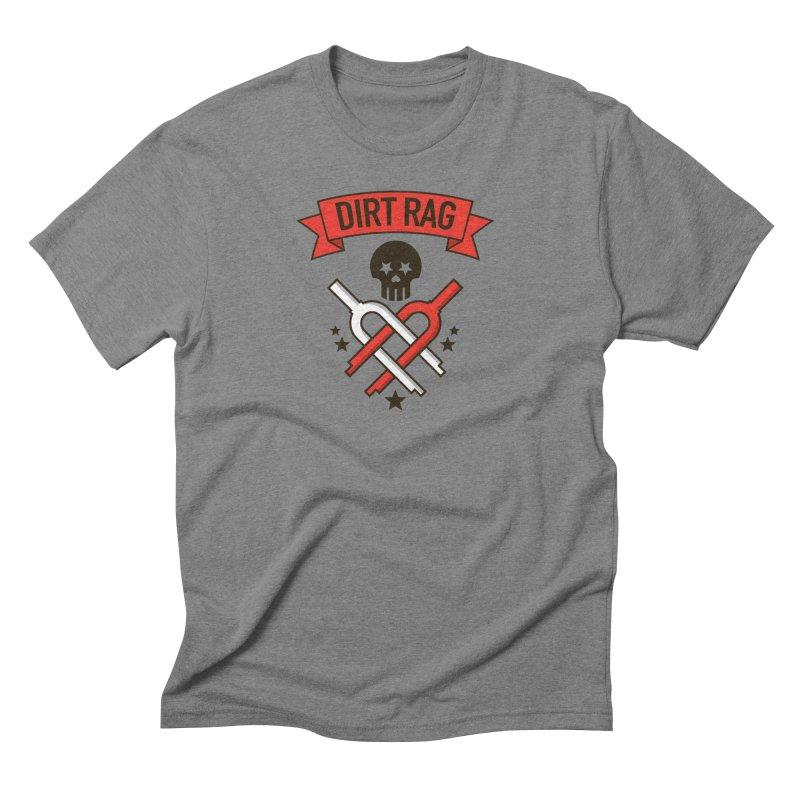 Dirt Rag Bangin' Forks Men's Triblend T-Shirt by Dirt Rag Magazine's Shop