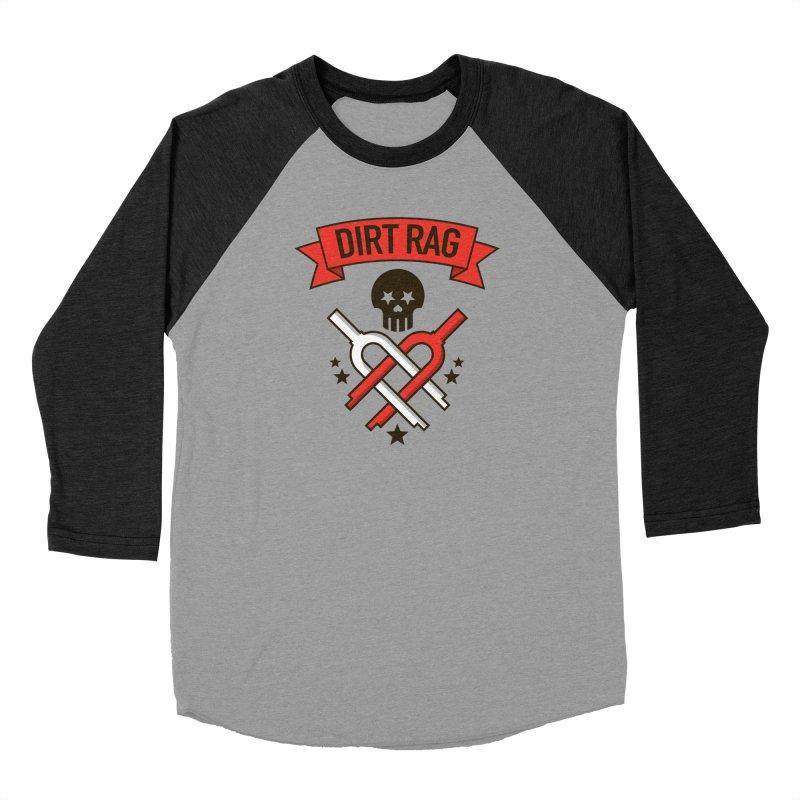Dirt Rag Bangin' Forks Women's Baseball Triblend T-Shirt by Dirt Rag Magazine's Shop