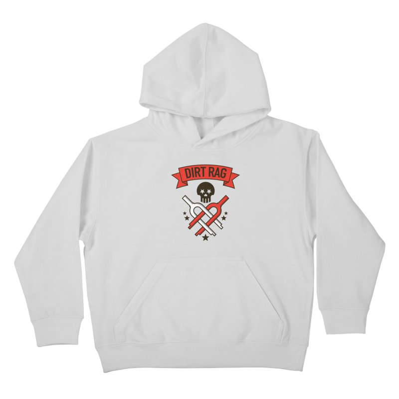 Dirt Rag Bangin' Forks Kids Pullover Hoody by Dirt Rag Magazine's Shop