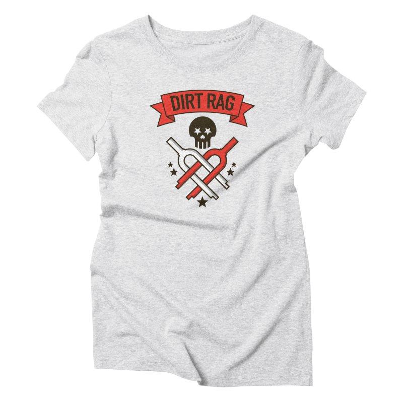 Dirt Rag Bangin' Forks Women's Triblend T-Shirt by Dirt Rag Magazine's Shop