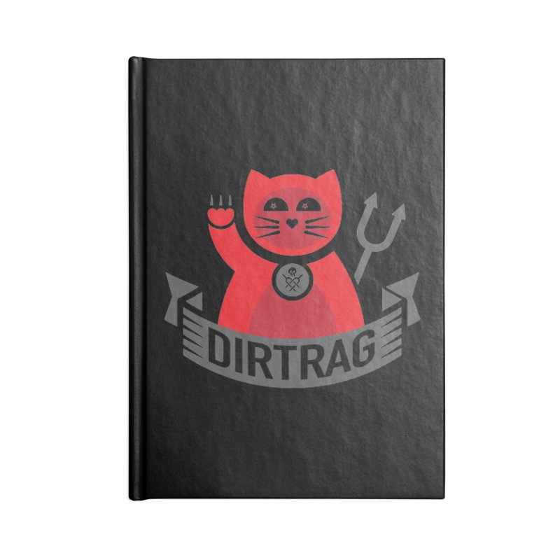 Bad Kitty Accessories Blank Journal Notebook by Dirt Rag Magazine's Shop