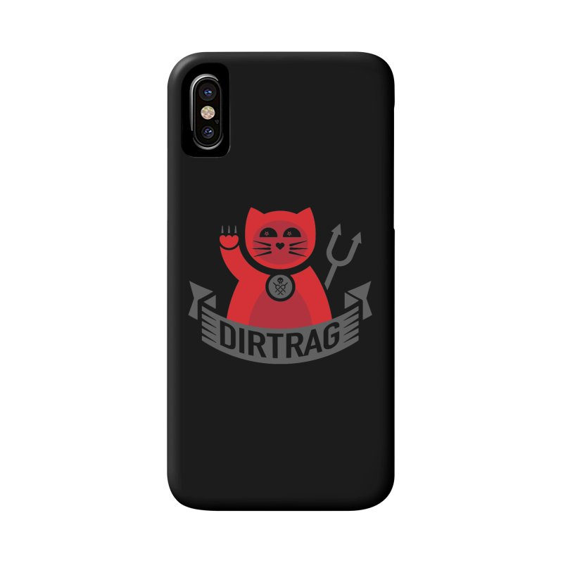 Bad Kitty Accessories Phone Case by Dirt Rag Magazine's Shop