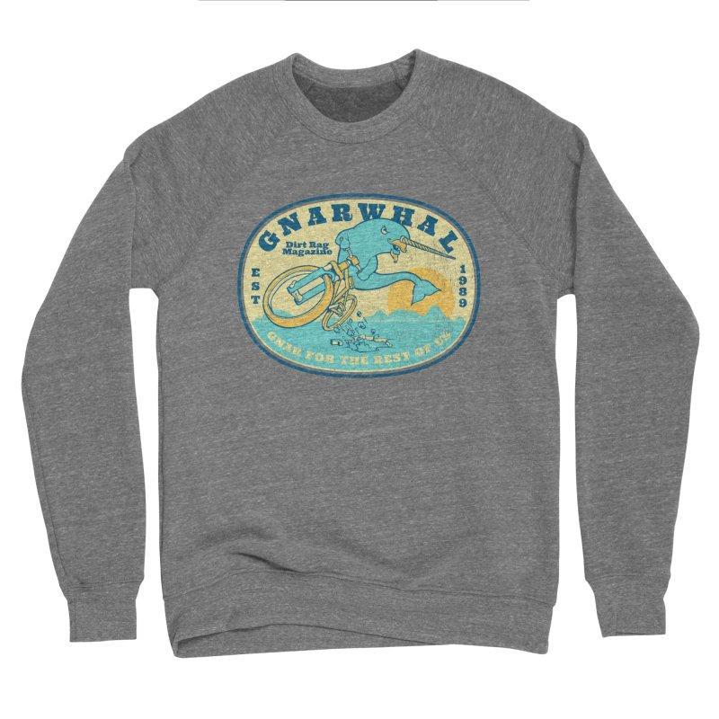 Gnarwhal Men's Sponge Fleece Sweatshirt by Dirt Rag Magazine's Shop