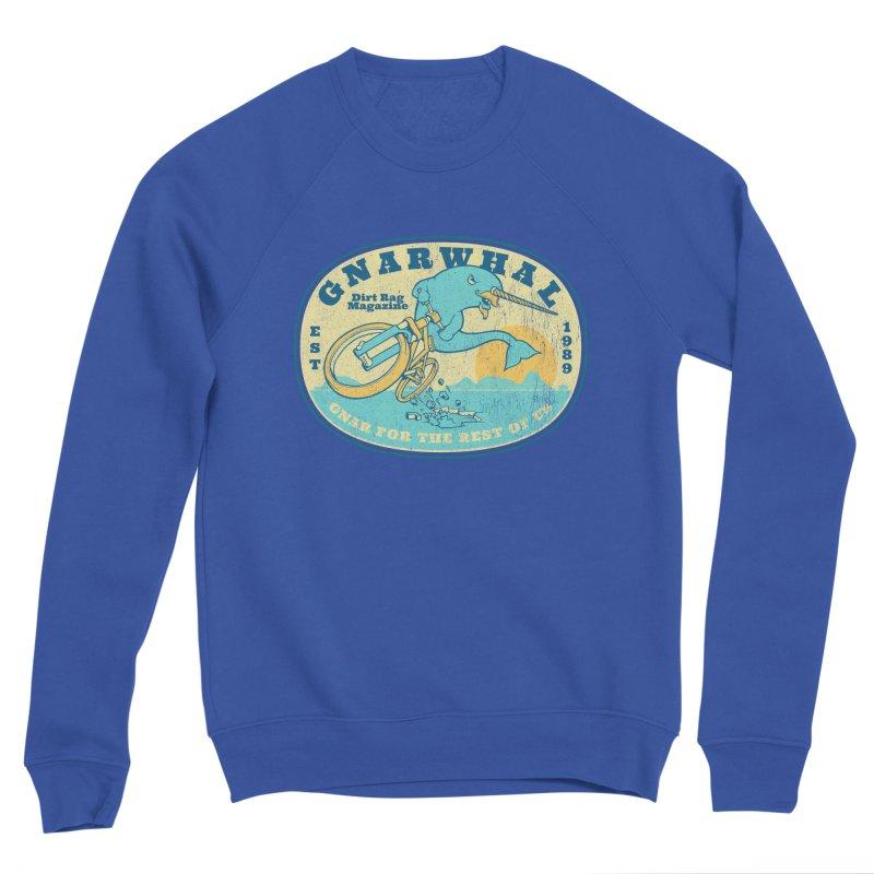 Gnarwhal Women's Sponge Fleece Sweatshirt by Dirt Rag Magazine's Shop