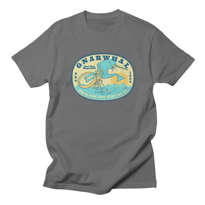Gnarwhal Men's T-Shirt by Dirt Rag Magazine's Shop