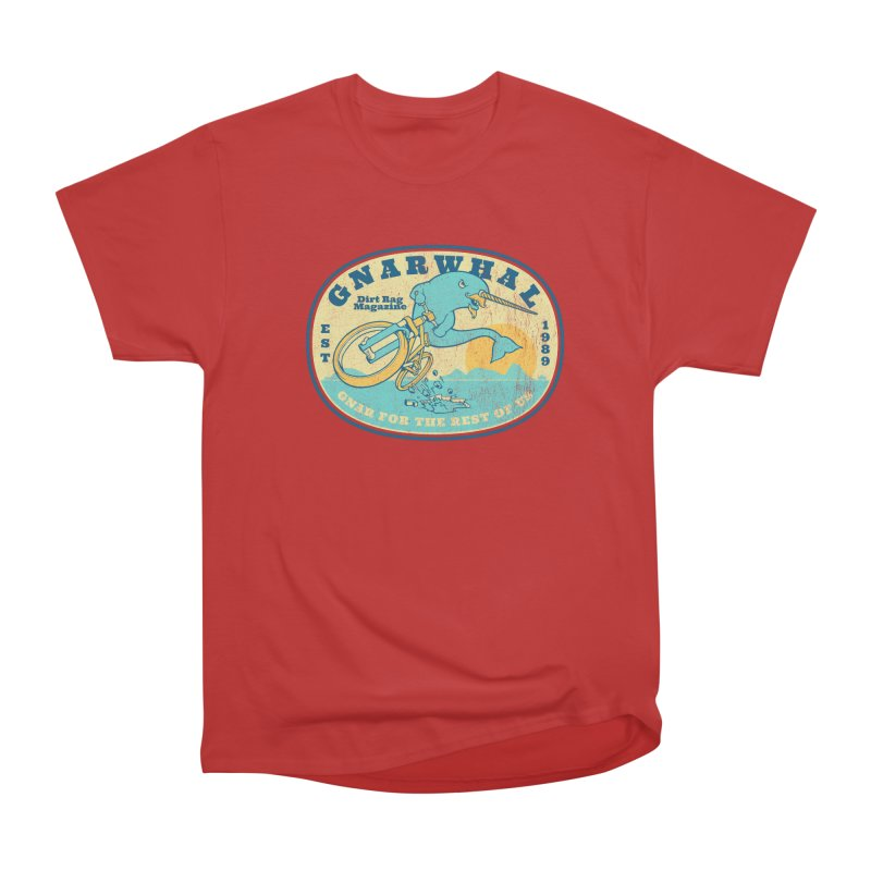 Gnarwhal Men's Heavyweight T-Shirt by Dirt Rag Magazine's Shop