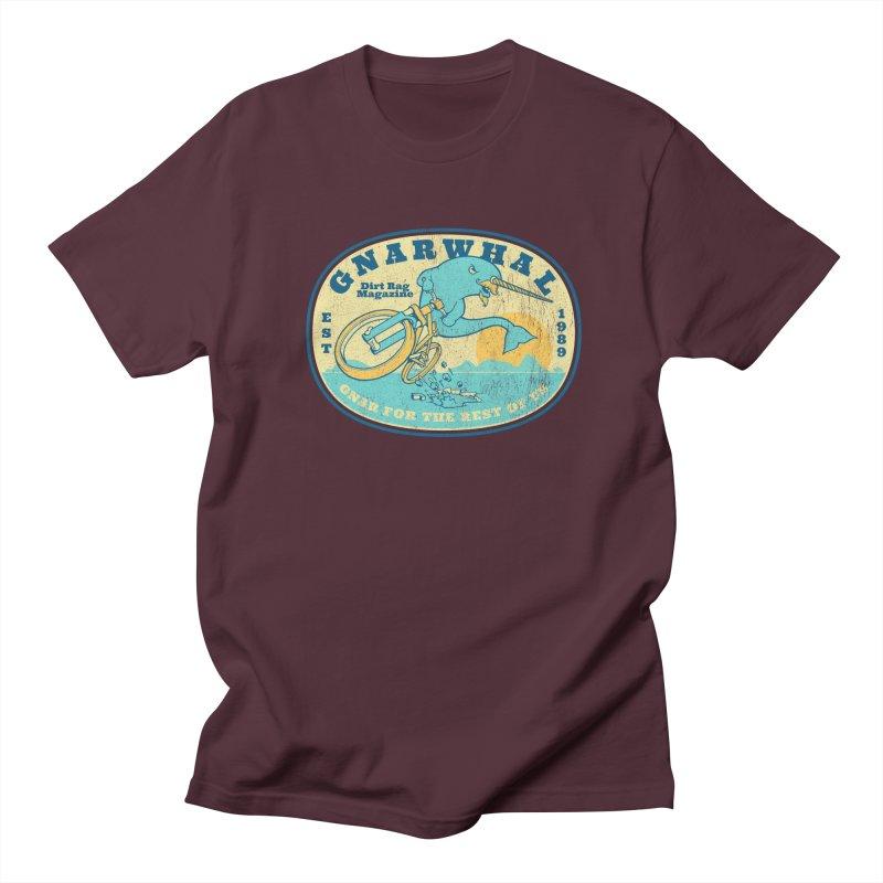 Gnarwhal Men's Regular T-Shirt by Dirt Rag Magazine's Shop