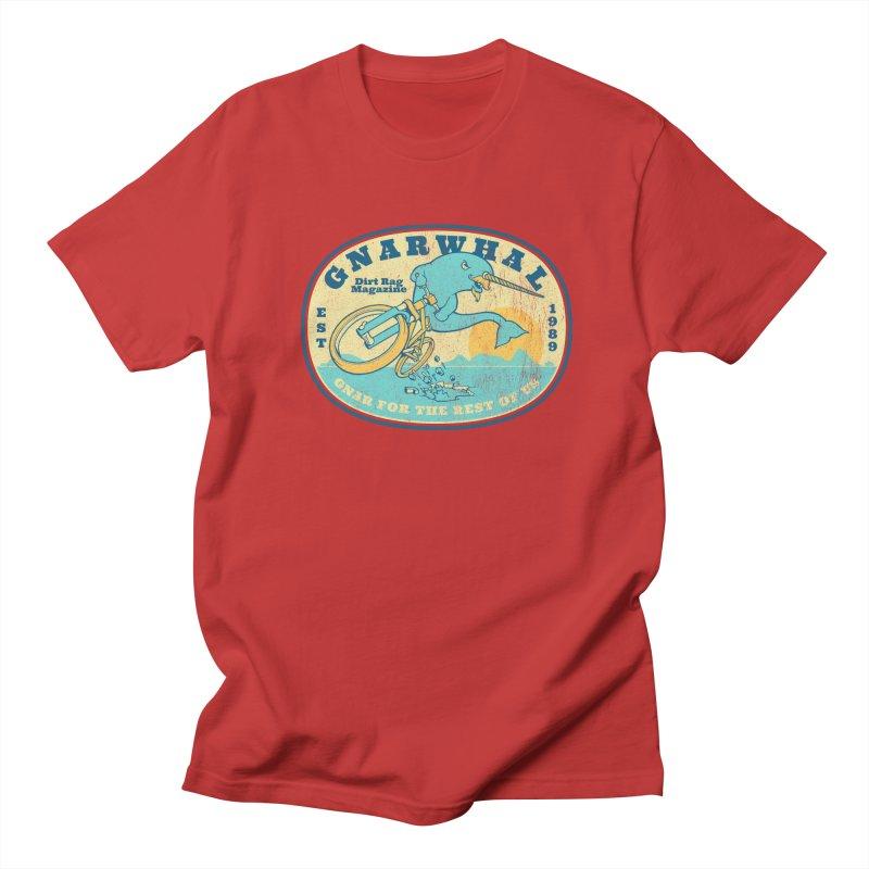 Gnarwhal Women's Regular Unisex T-Shirt by Dirt Rag Magazine's Shop
