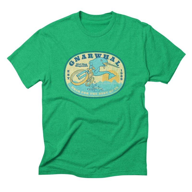 Gnarwhal Men's Triblend T-Shirt by Dirt Rag Magazine's Shop