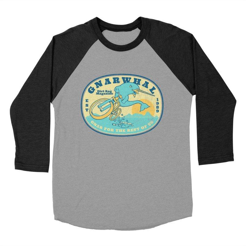 Gnarwhal Men's Baseball Triblend Longsleeve T-Shirt by Dirt Rag Magazine's Shop