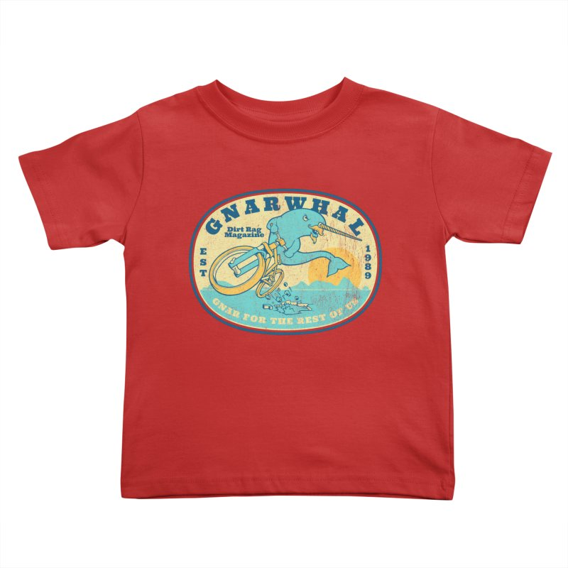 Gnarwhal Kids Toddler T-Shirt by Dirt Rag Magazine's Shop