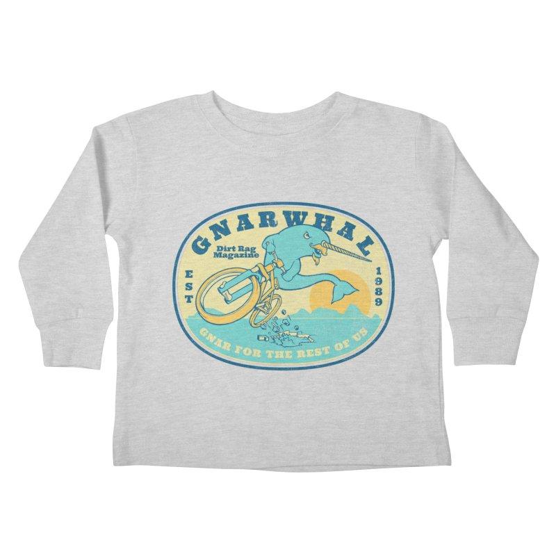 Gnarwhal Kids Toddler Longsleeve T-Shirt by Dirt Rag Magazine's Shop