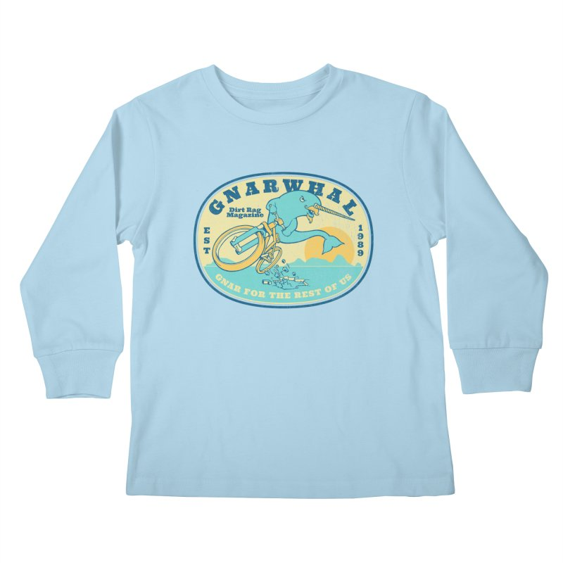 Gnarwhal Kids Longsleeve T-Shirt by Dirt Rag Magazine's Shop