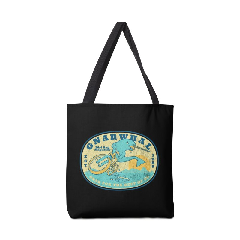 Gnarwhal Accessories Tote Bag Bag by Dirt Rag Magazine's Shop