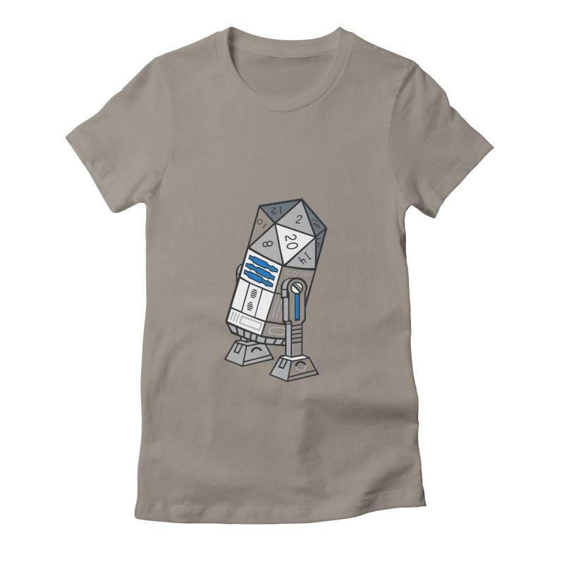 R2D20 Women's Fitted T-Shirt by Dirtdirt's Artist Shop