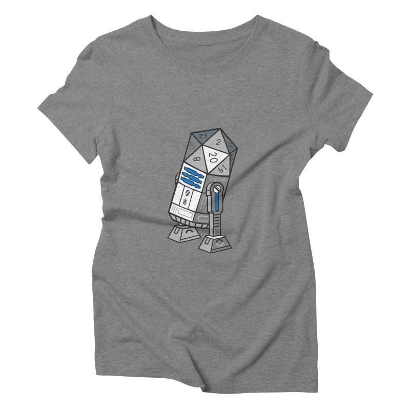 R2D20 Women's Triblend T-shirt by Dirtdirt's Artist Shop