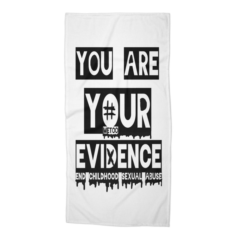Your Own Evidence Accessories Beach Towel by 30&3