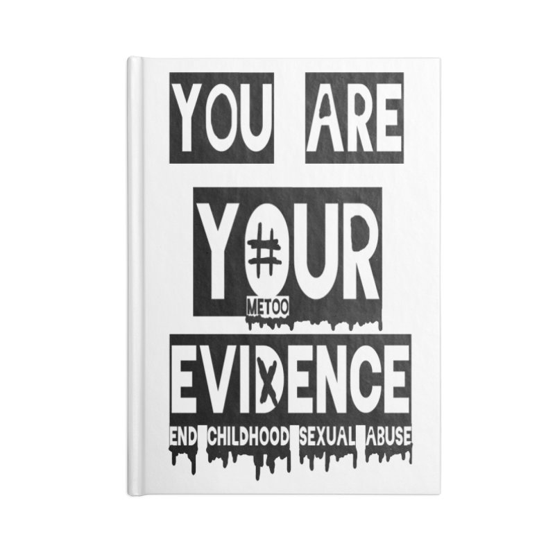 Your Own Evidence Accessories Lined Journal Notebook by 30&3