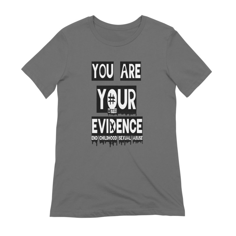 Your Own Evidence Women's Extra Soft T-Shirt by 30&3