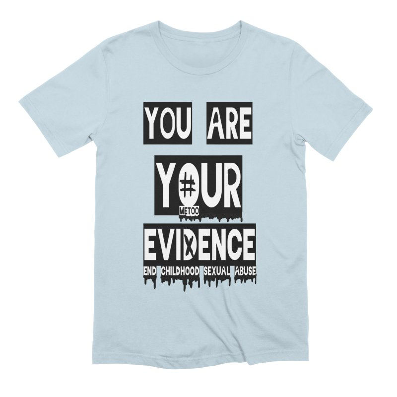 Your Own Evidence Men's Extra Soft T-Shirt by 30&3
