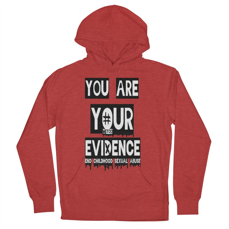 Your Own Evidence Women's French Terry Pullover Hoody by 30&3