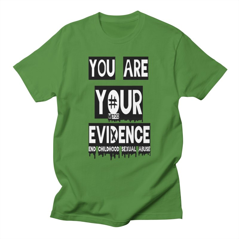 Your Own Evidence Men's Regular T-Shirt by 30&3