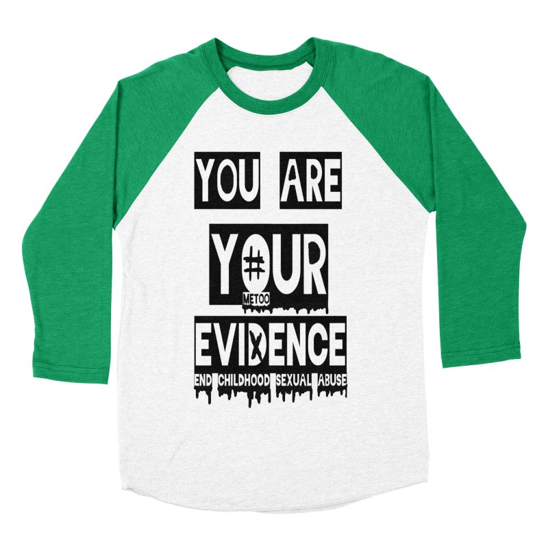 Your Own Evidence Men's Baseball Triblend Longsleeve T-Shirt by 30&3