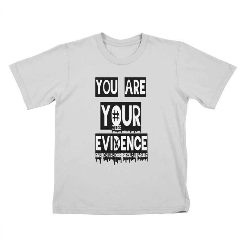 Your Own Evidence Kids T-Shirt by 30&3