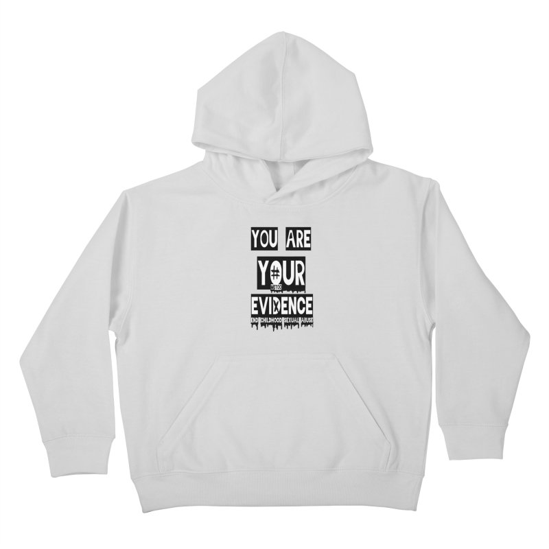 Your Own Evidence Kids Pullover Hoody by 30&3