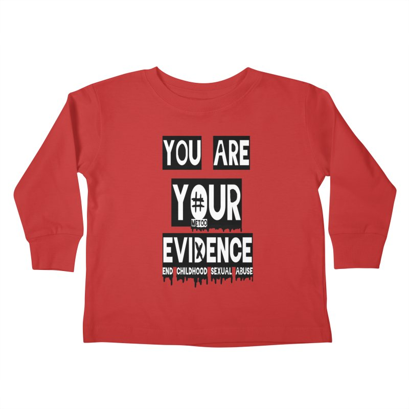 Your Own Evidence Kids Toddler Longsleeve T-Shirt by 30&3