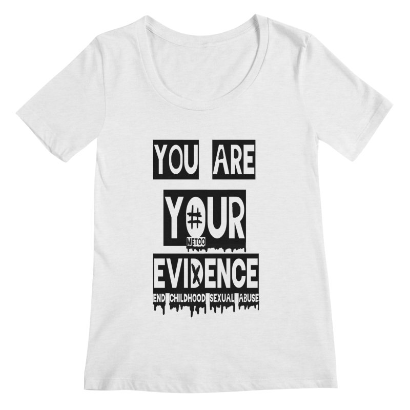 Your Own Evidence Women's Regular Scoop Neck by 30&3
