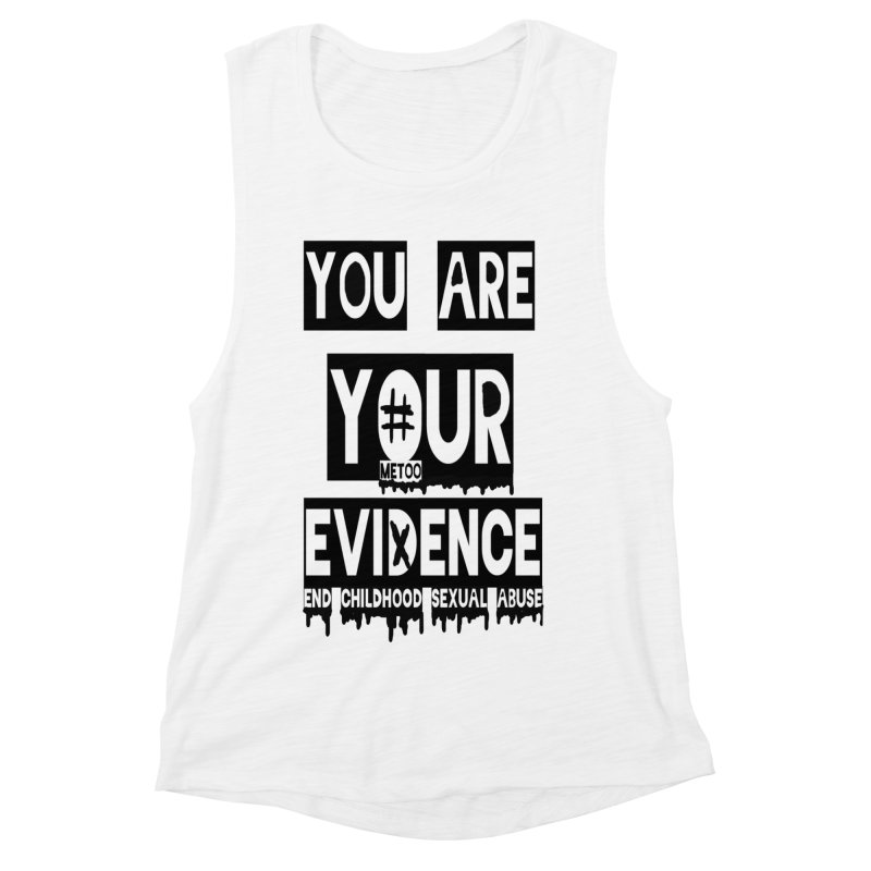 Your Own Evidence Women's Muscle Tank by 30&3