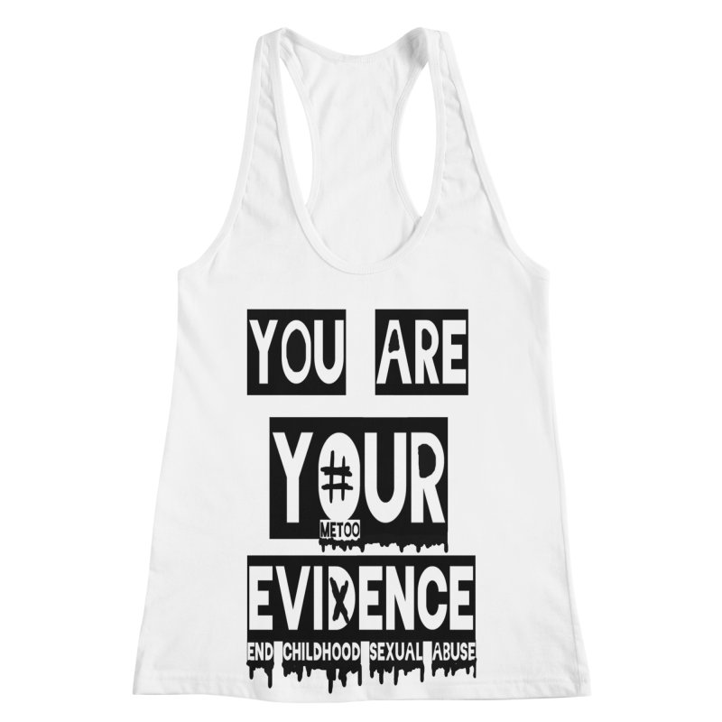 Your Own Evidence Women's Racerback Tank by 30&3