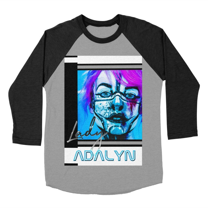Lady Adalyn Men's Baseball Triblend Longsleeve T-Shirt by 30&3