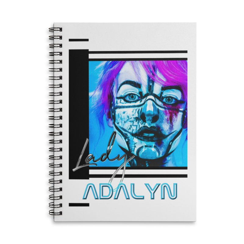 Lady Adalyn Accessories Lined Spiral Notebook by 30&3
