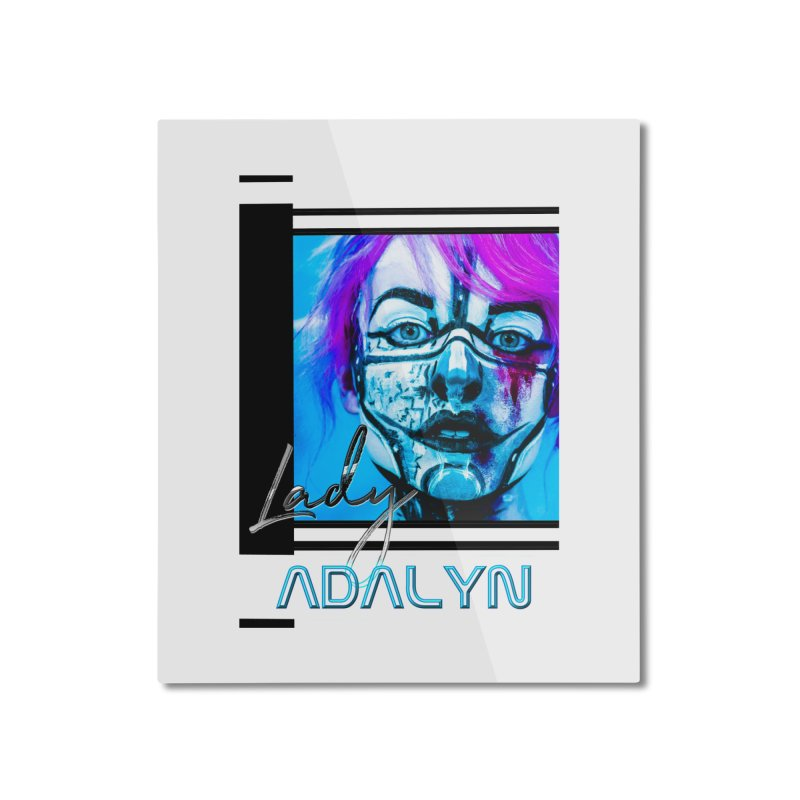 Lady Adalyn Home Mounted Aluminum Print by 30&3