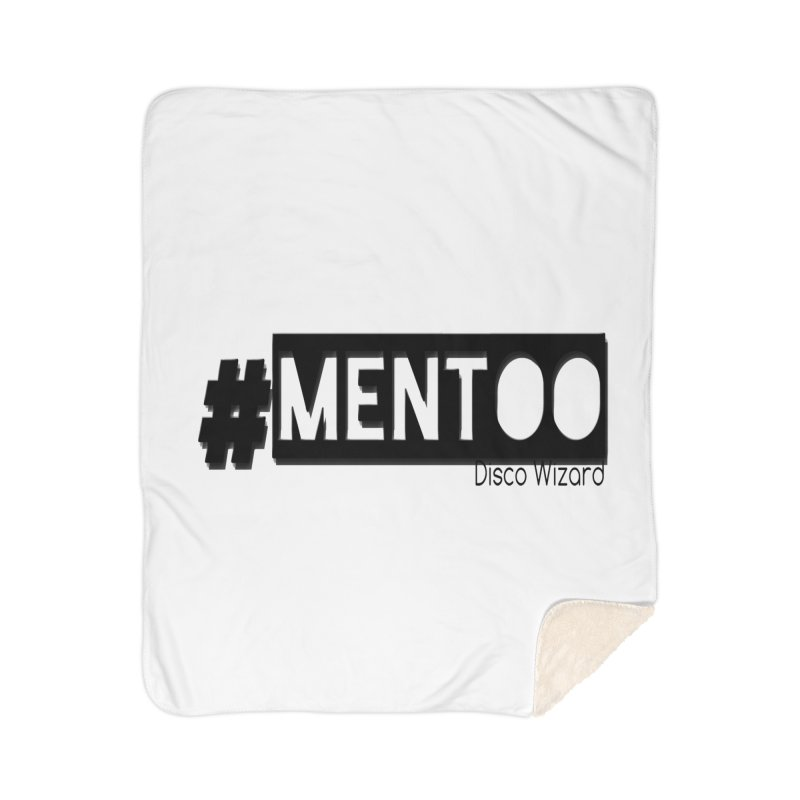 MenToo Disco Design Home Sherpa Blanket Blanket by 30&3