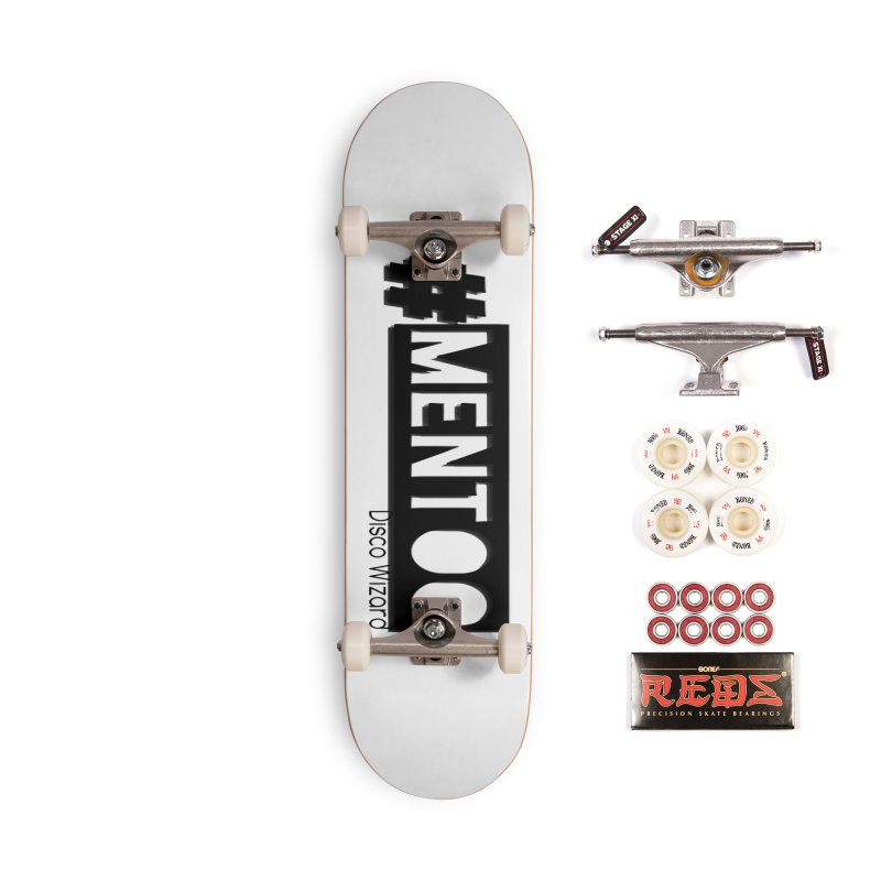 MenToo Disco Design Accessories Complete - Pro Skateboard by 30&3